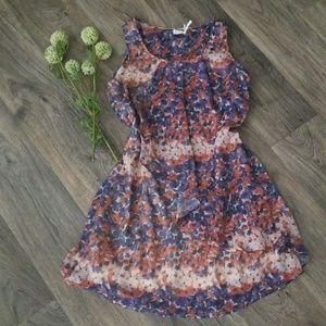 Blu Pepper floral dress sz S